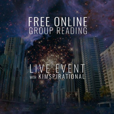 FREE Online Groupe Reading - Live Event