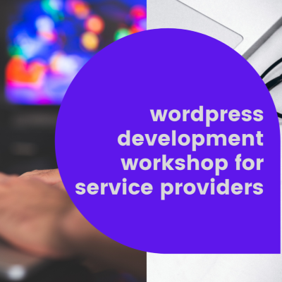 Wordpress development workshop for service providers and Small business(In hindi)