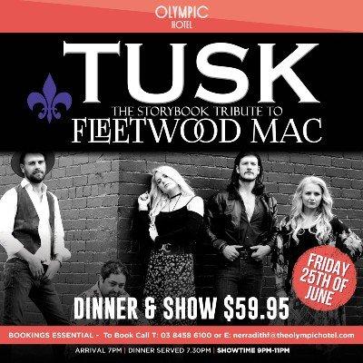 TUSK-Fleetwood Mac Tribute Show