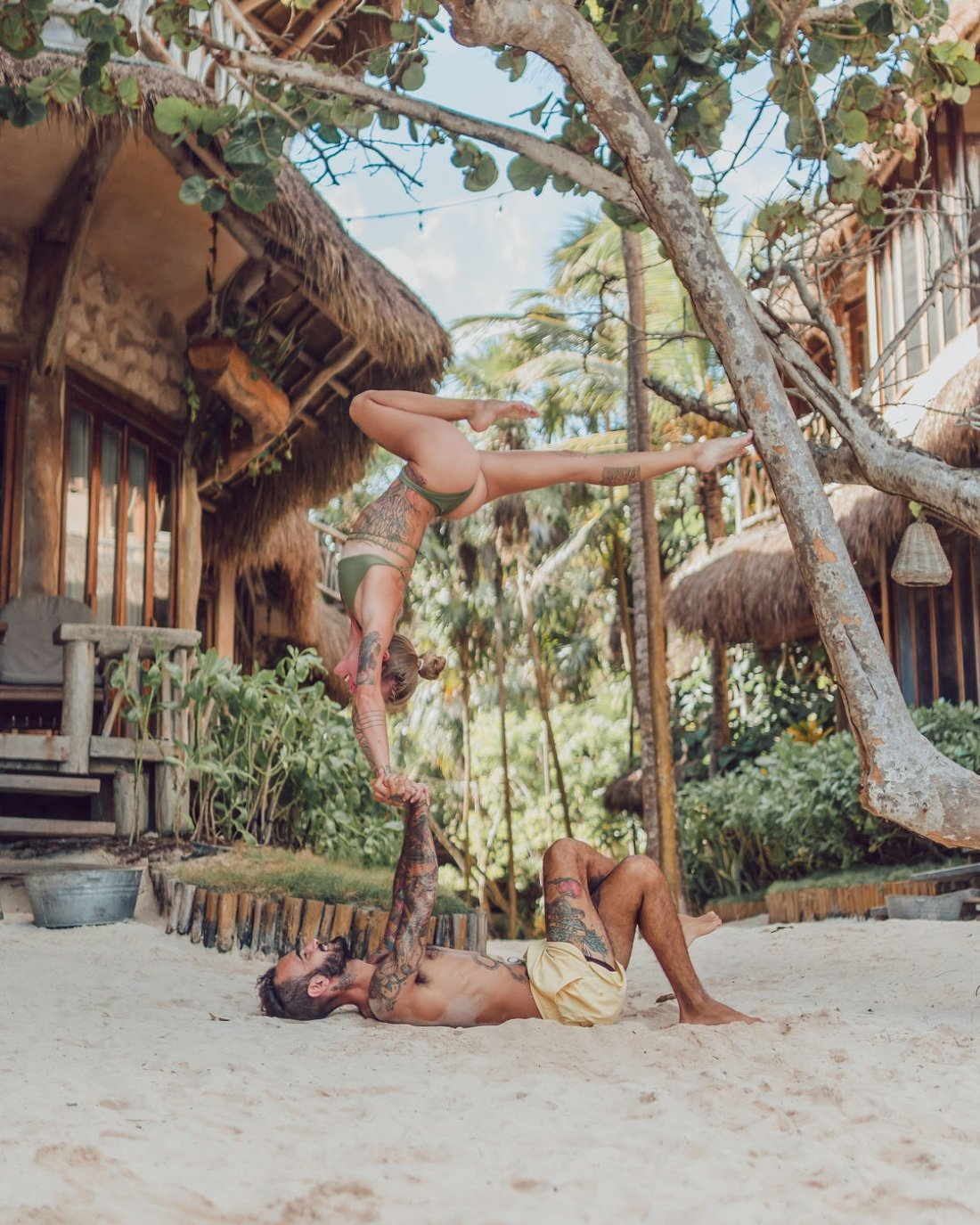 Acrotravels Acroyoga at Ahau Hotel | Event in Tulum | AllEvents.in