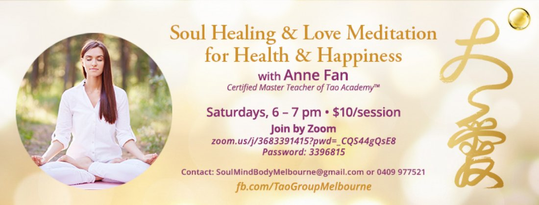 Soul Healing & Love Meditation for Health and Happiness, 7 August | Online Event | AllEvents.in