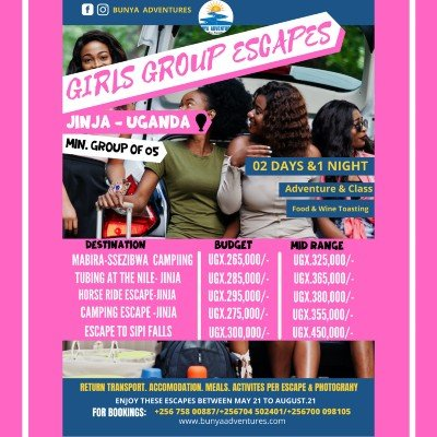 Girls group escapes in uganda