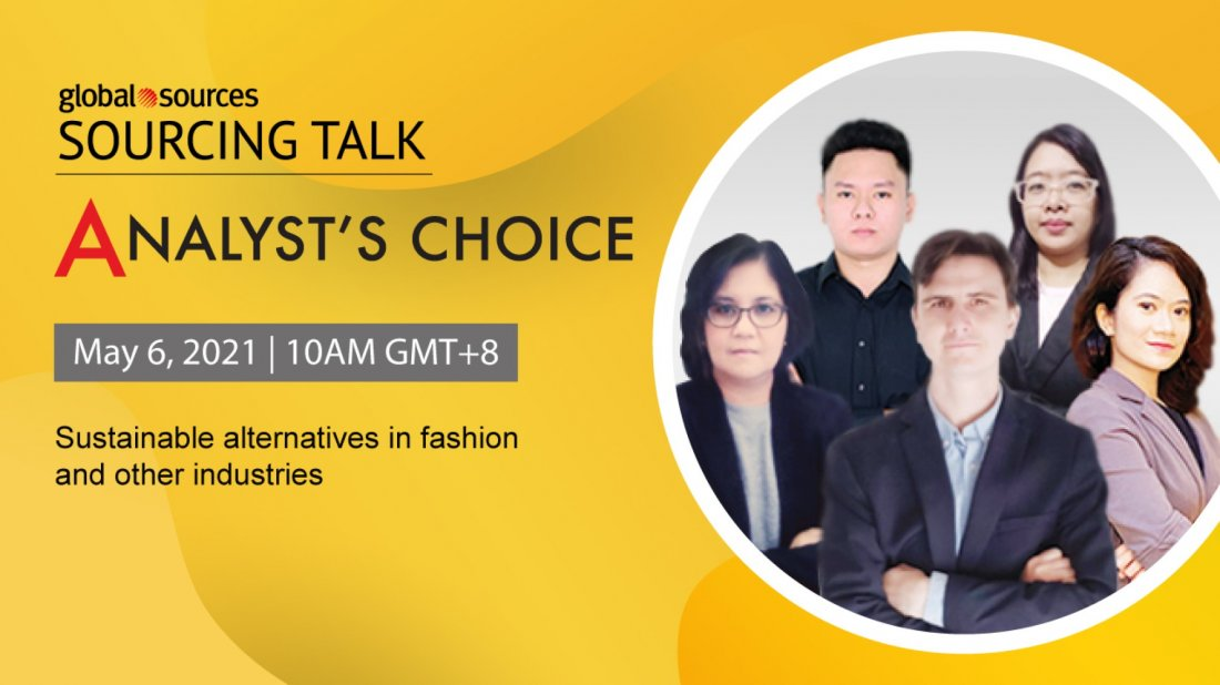 Global Sources Sourcing Talk: Analyst's Choice 4   Online Event   AllEvents.in