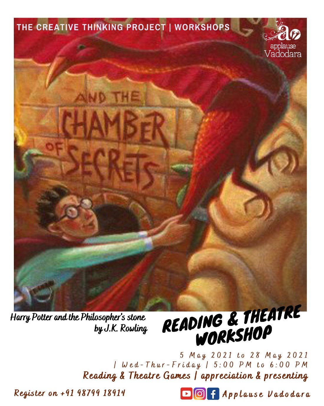 Reading and Theatre workshop | Children | Online Event | AllEvents.in