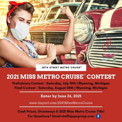 2021 Miss Metro Cruise Contest (Pin Up)