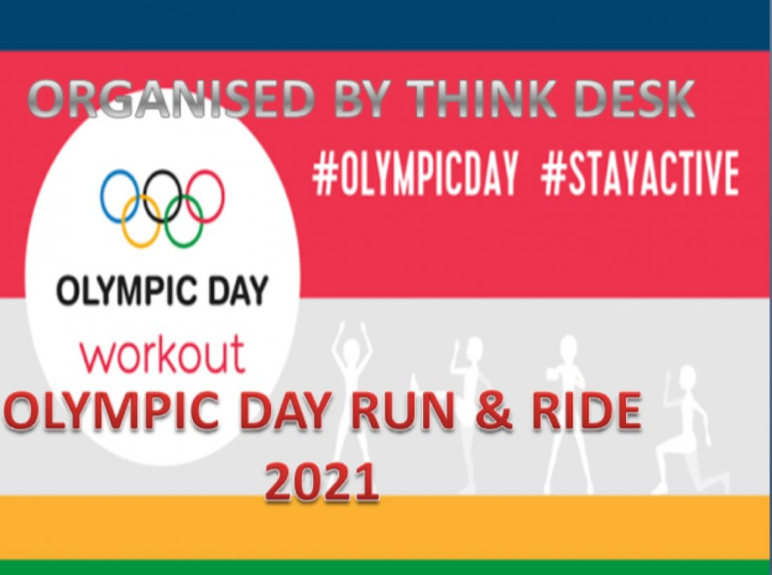 OLYMPIC DAY RUN&RIDE 2021, 23 June | Online Event | AllEvents.in
