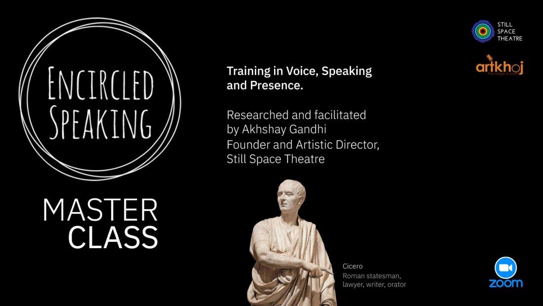 Encircled Speaking Masterclass - Online Workshop, 17 July   Online Event   AllEvents.in