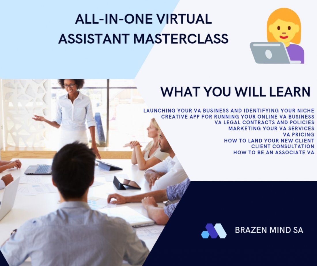 Virtual Assistant Masterclass | Event in Sandton | AllEvents.in