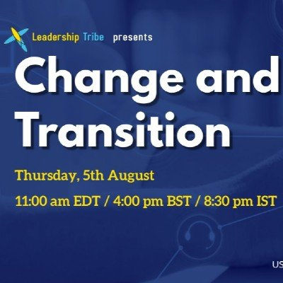 Change and Agile Transition - Free Webinar