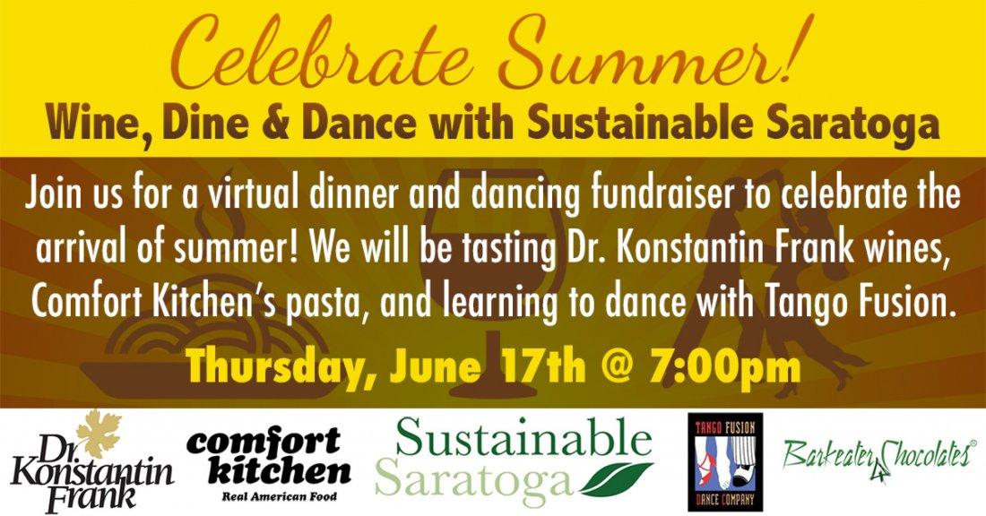 WINE, DINE & DANCE fundraiser, 17 June | Online Event | AllEvents.in