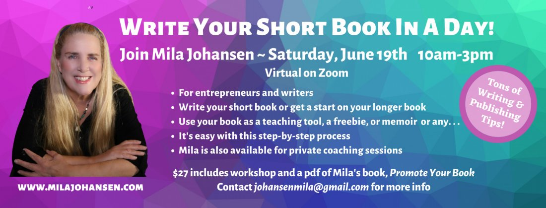 Write Your Short Book in a Day, 19 June | Online Event | AllEvents.in