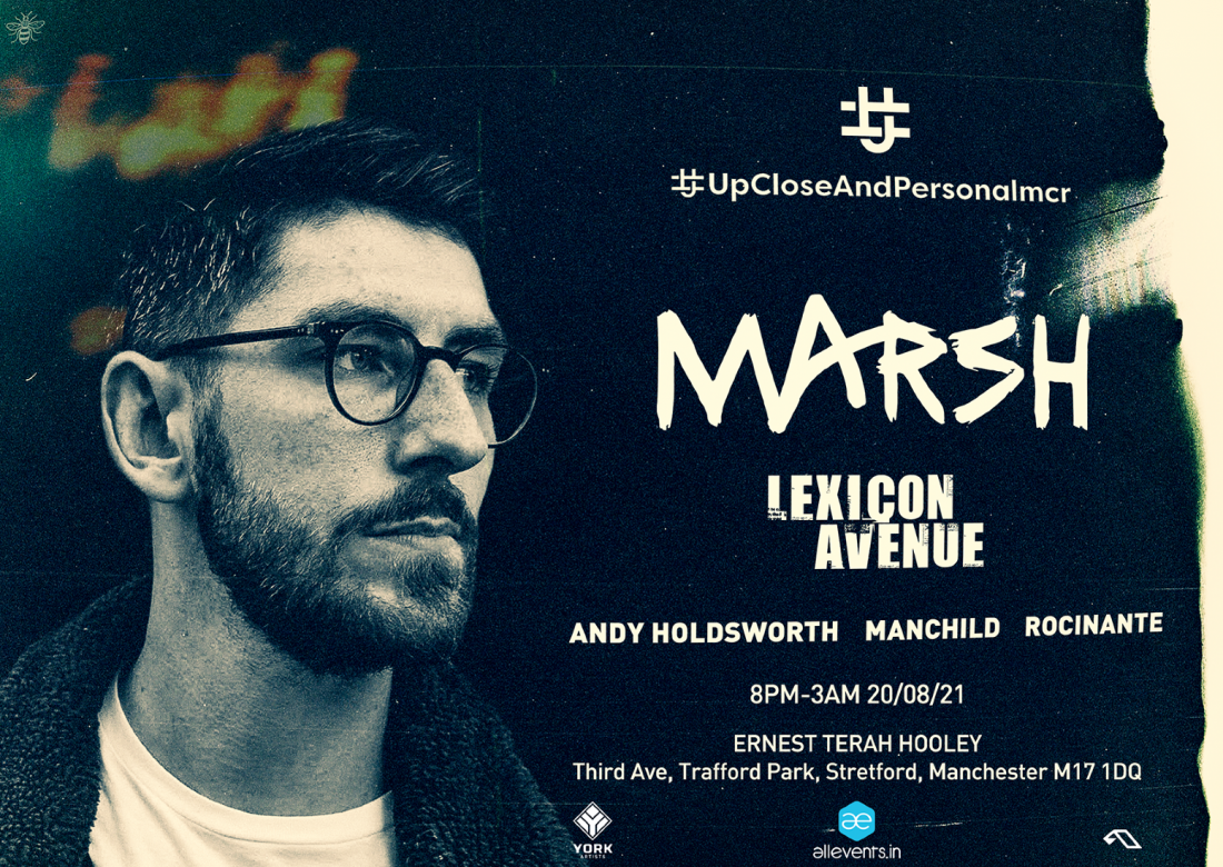Upcloseandpersonalmcr  presents Marsh, 20 August | Event in Manchester | AllEvents.in