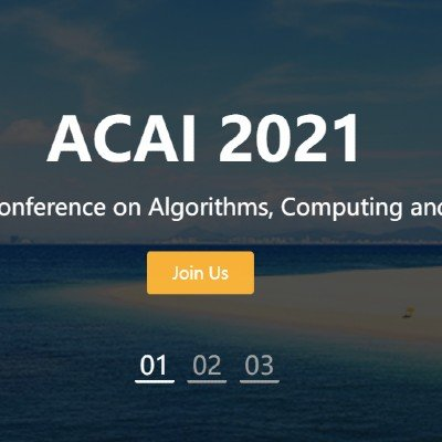 2021 4th International Conference on Algorithms Computing and Artificial Intelligence (ACAI 2021)