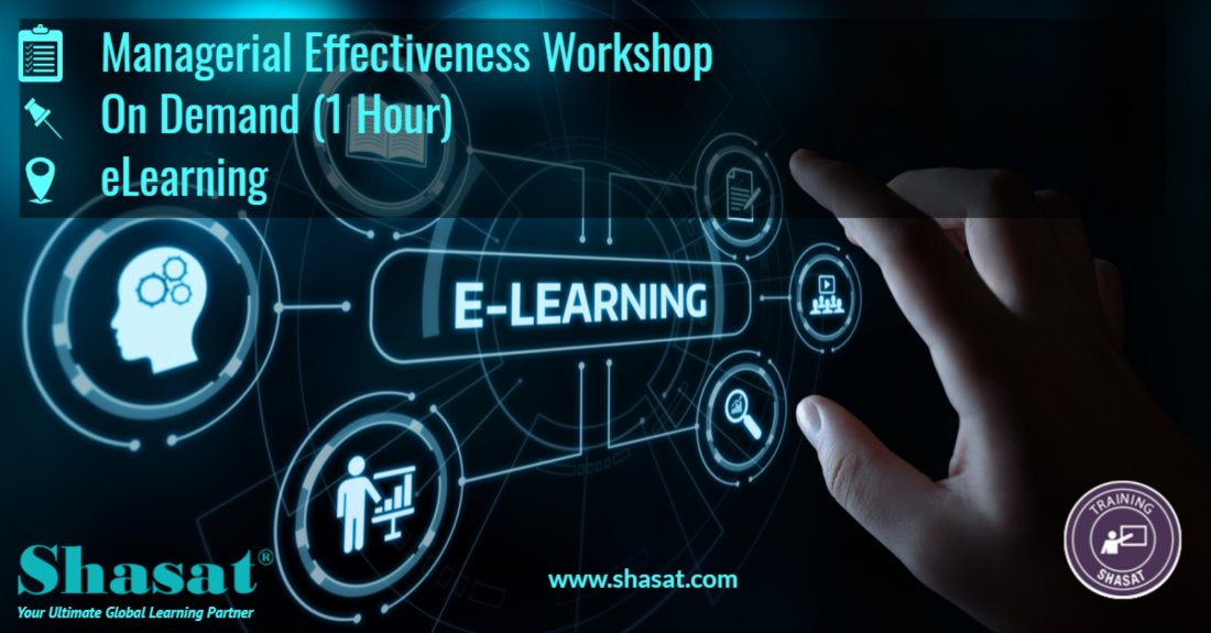 Effective Managerial Skills – eLearning (1 Hour), 26 September | Online Event | AllEvents.in