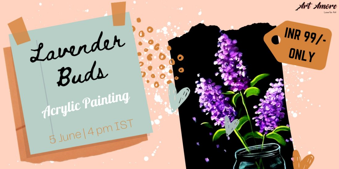 Acrylic Painting for INR 99/- Only (Recorded) | Online Event | AllEvents.in