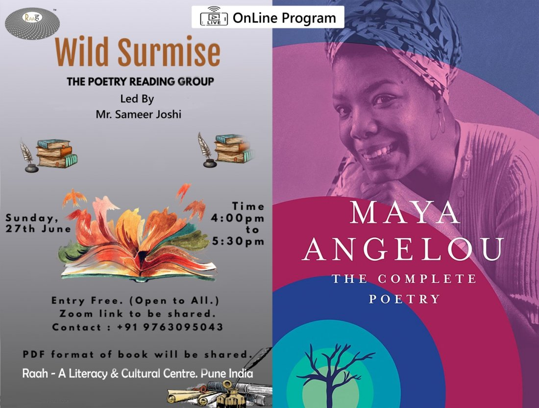Wild Surmise | The Poetry Reading Group, 27 June | Online Event | AllEvents.in