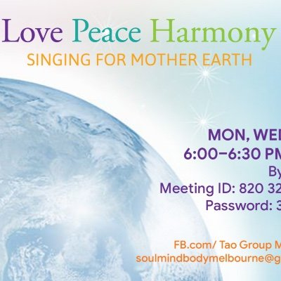 Love Peace Harmony Singing for Mother Earth