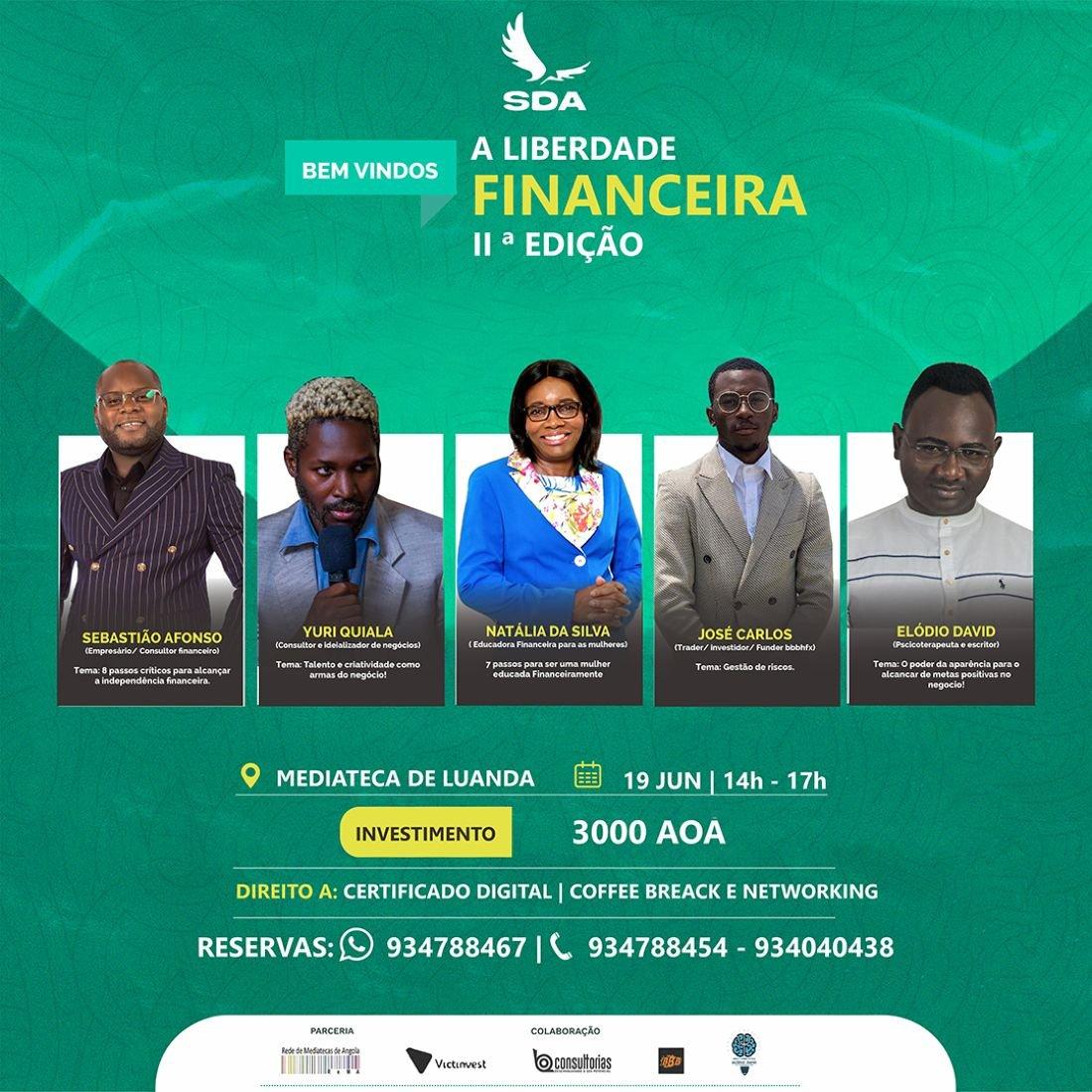 Bem-Vindos à Liberdade Financeira 0.2, 19 June | Event in Luanda | AllEvents.in
