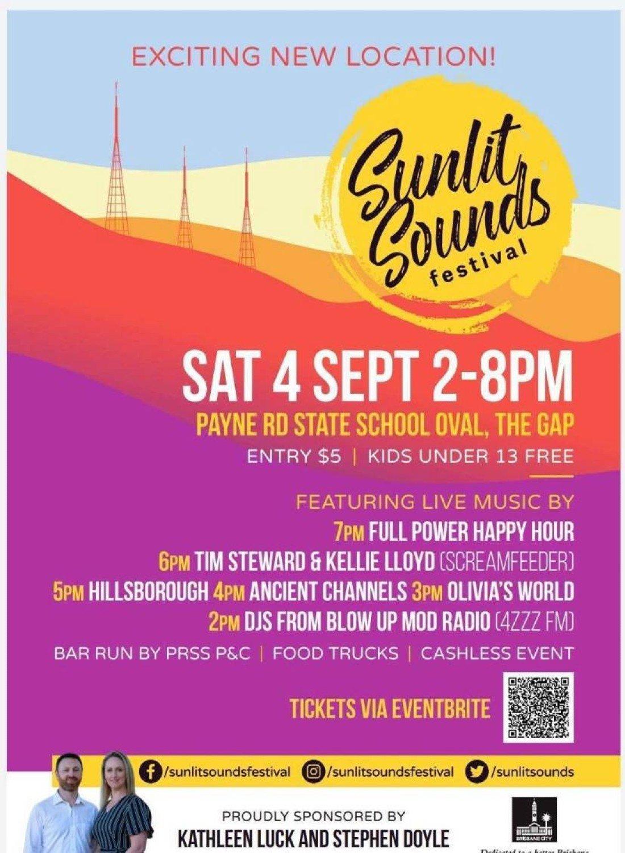Sunlit Sounds Festival, 4 September | Event in The Gap | AllEvents.in