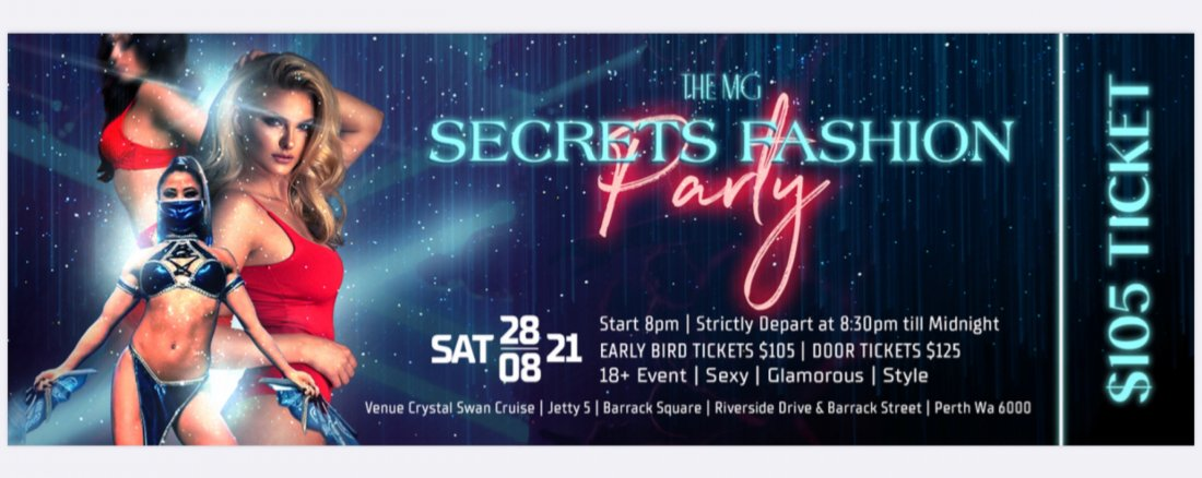 The MG Secrets Fashion Party, 28 August | Event in Perth | AllEvents.in