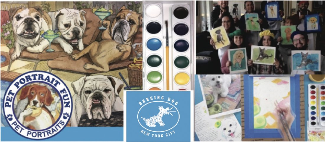 Paint Night at the Barking DOG- Pet Portrait Fun, 30 June   Event in New York   AllEvents.in