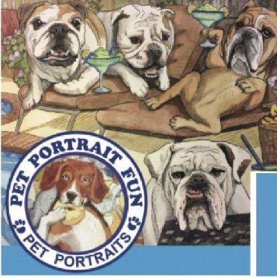 Paint Night at the Barking DOG- Pet Portrait Fun