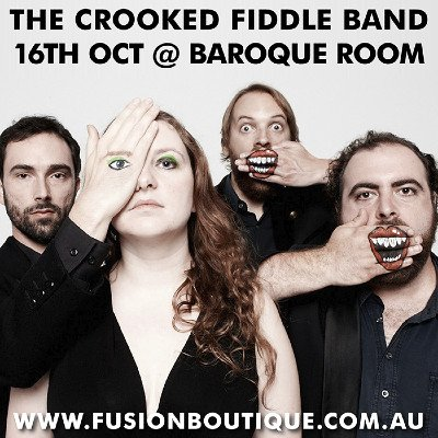 The Crooked Fiddle Band Live in Concert at Baroque Room Katoomba NSW