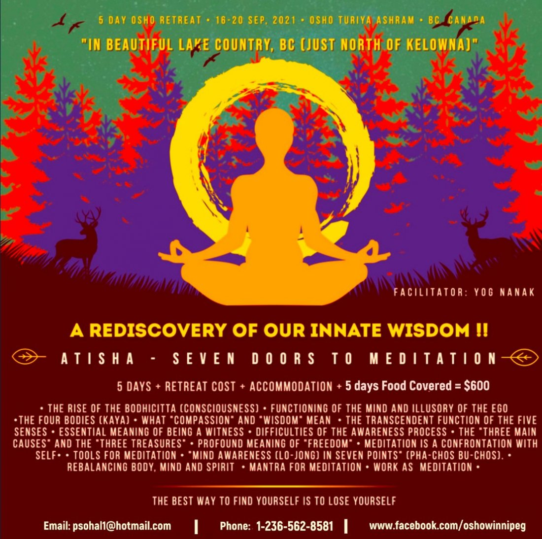Atisha - Seven Doors to Meditation, 16 September | Event in Lake Country | AllEvents.in