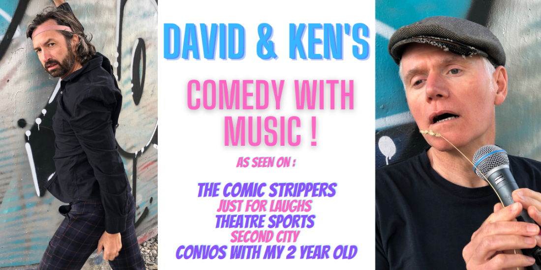 David and Ken's Comedy with Music!, 7 August | Event in Vancouver | AllEvents.in