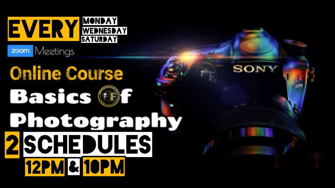 Basics Of Photography - 2 Days Online Course | Online Event | AllEvents.in