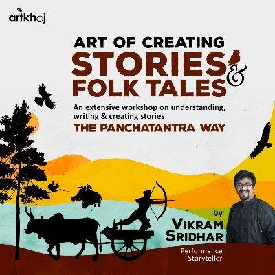 Art of Creating Stories & Folktales - An Online Workshop