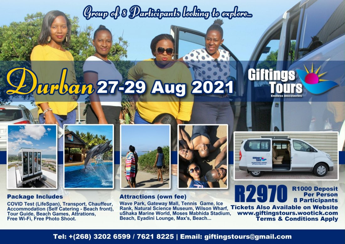 Durban South Africa - 8 Participants , 27 August | Event in Durban | AllEvents.in