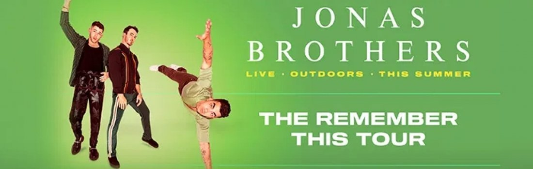 The Remember This Tour - Jonas Brothers, 22 September | Event in Peninsula | AllEvents.in