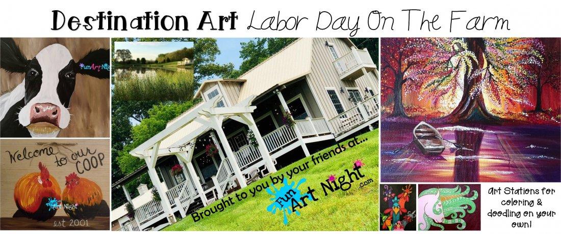 Destination Art Retreat - Labor Day On The Farm   Event in Jefferson City   AllEvents.in