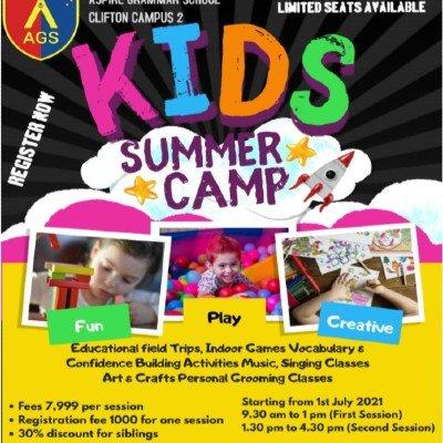 Summer Camp 2021 Aspire Grammar School - Clifton Campus