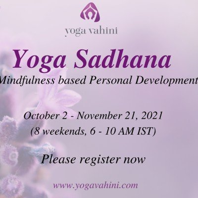 Yoga Sadhana - A Yoga & Mindfulness based Personal Development Program
