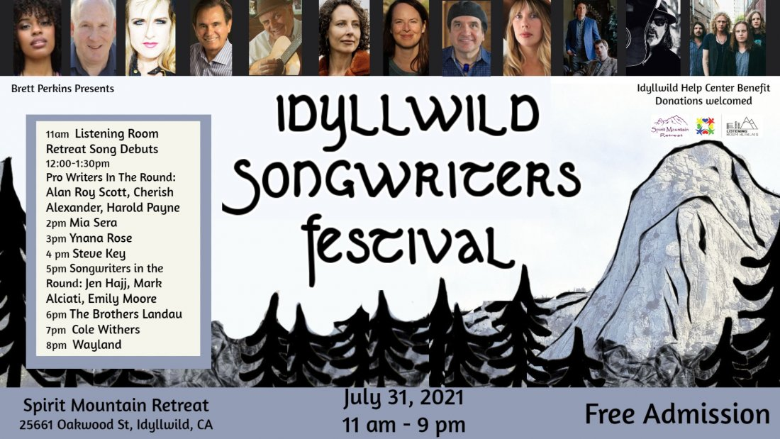 Idyllwild Songwriters Festival, 31 July   Event in Idyllwild   AllEvents.in