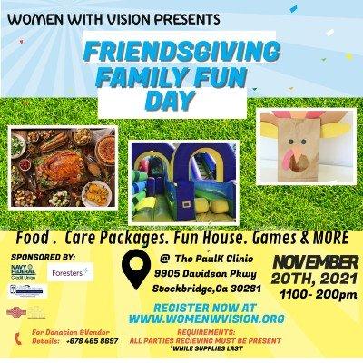 FriendsGiving Family Fun Day