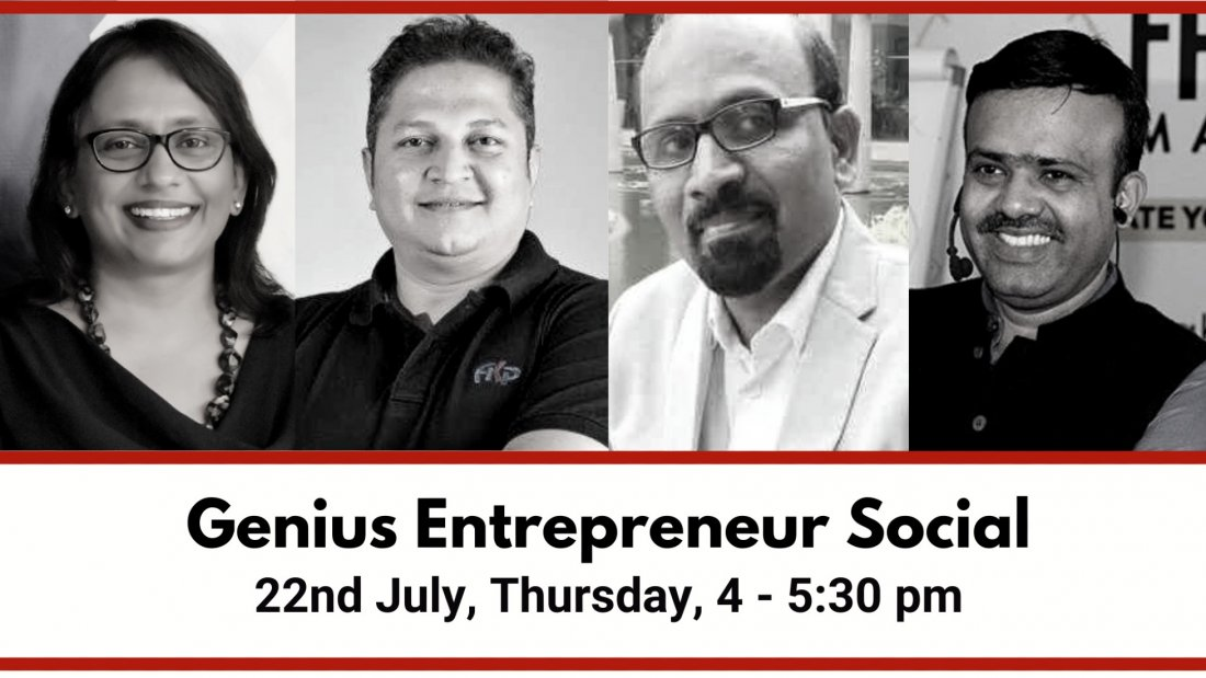 Genius Entrepreneur Social   Online Event   AllEvents.in