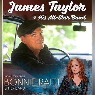 James Taylor and Bonnie Raitt