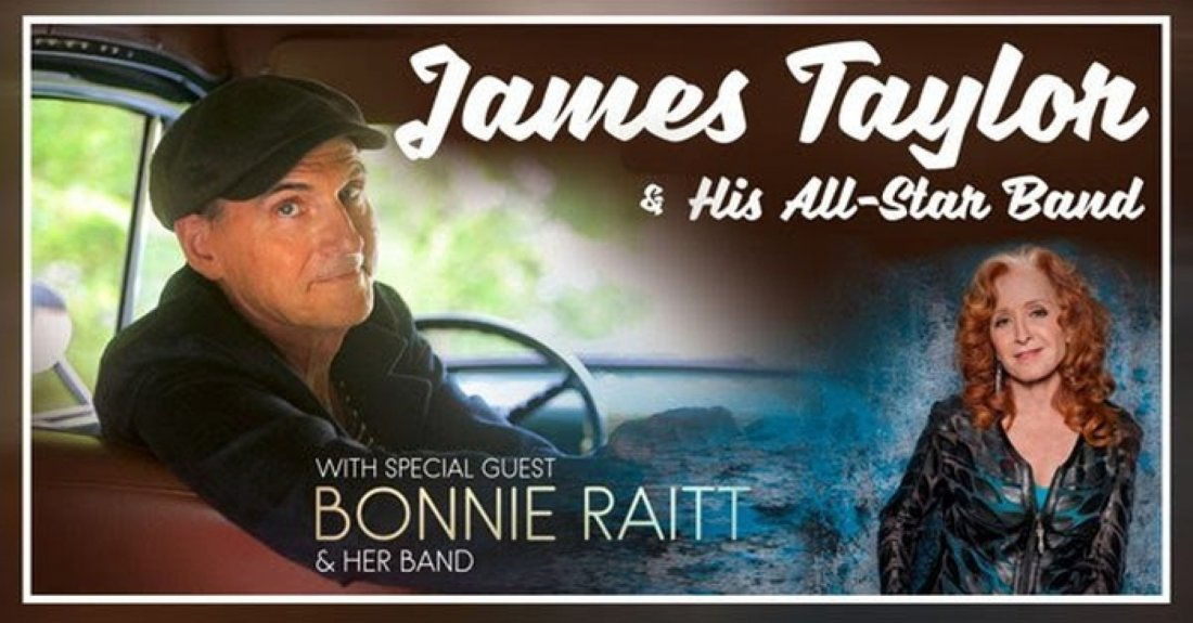 James Taylor and Bonnie Raitt, 22 September | Event in Toronto | AllEvents.in