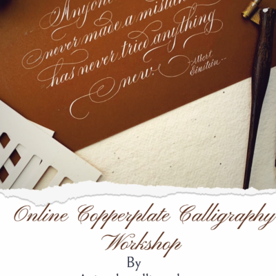 Online Copperplate Calligraphy Workshop