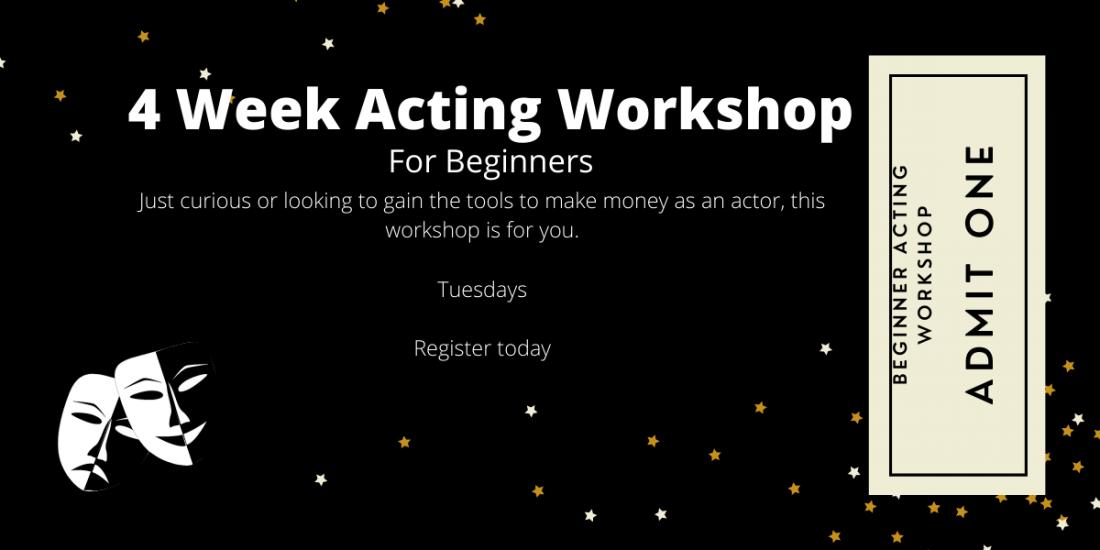 Acting Workshop for Beginners   Online Event   AllEvents.in