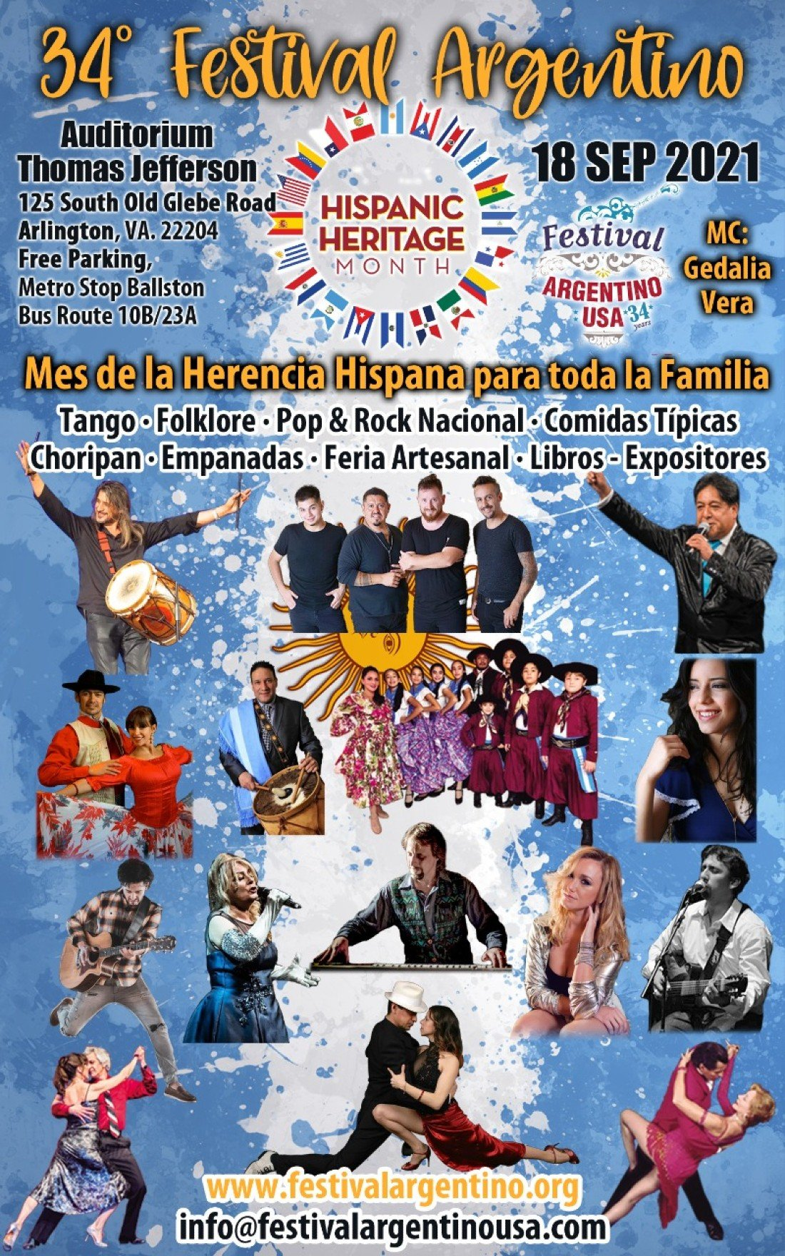 Festival Argentino USA, 18 September | Event in Arlington | AllEvents.in