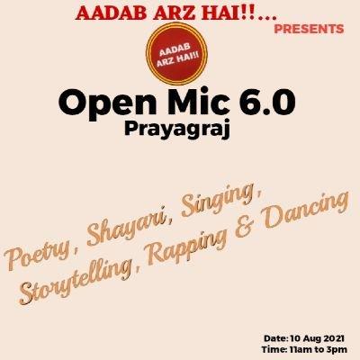 Open Mic 6.0 Prayagraj Chapter