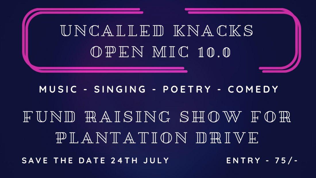Uncalled Knacks - Open Mic 10.0, 24 July   Online Event   AllEvents.in