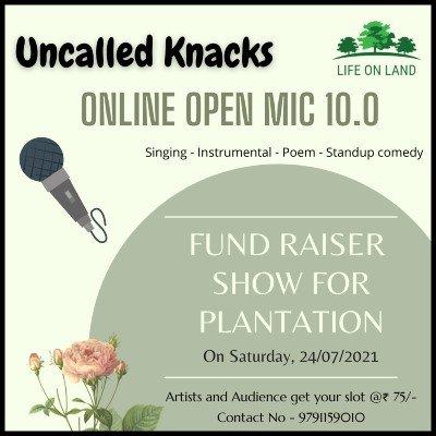 Uncalled Knacks - Open Mic 10.0