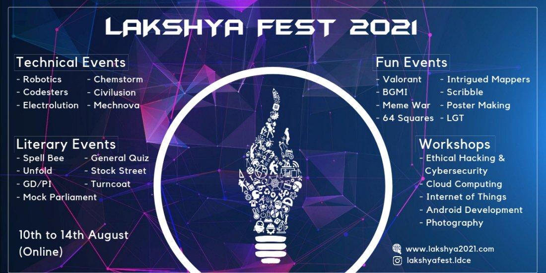 Lakshya2k21 - LDCE | Online Event | AllEvents.in