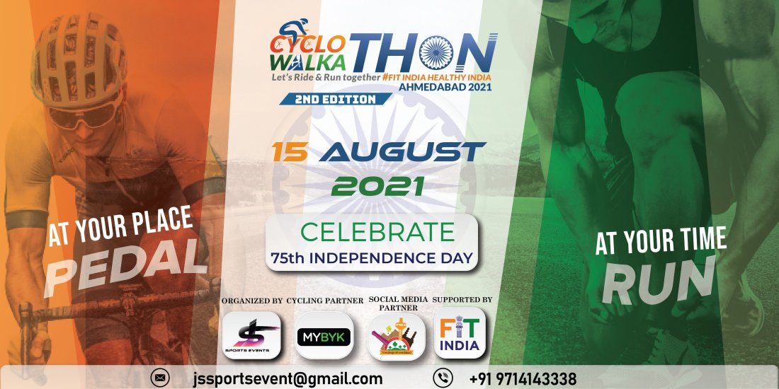 CYCLOTHON & WALKATHON 2021 2nd EDITION, 15 August | Online Event | AllEvents.in