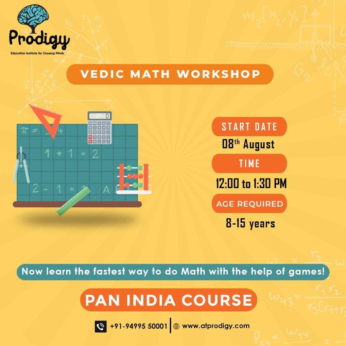 Free Vedic Math workshop, 8 August | Online Event | AllEvents.in